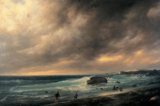 canella-giuseppe-storm-on-the-beach-of-scheveningen