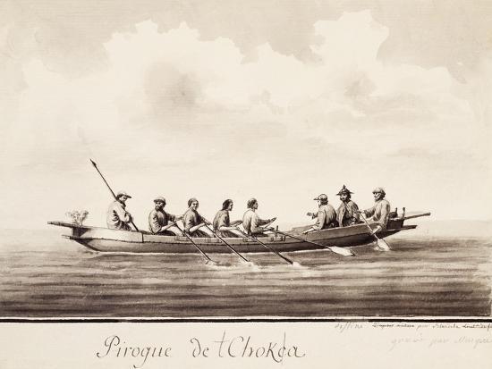 canoe-at-island-of-sakhalin-engraving-based-on-drawing-by-francois-michel-blondela