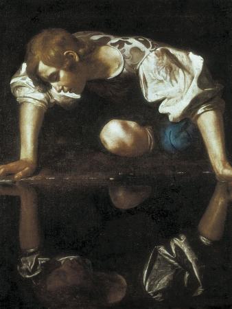 caravaggio-narcissus