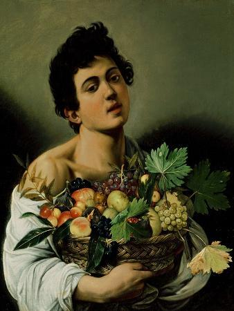 caravaggio-youth-with-a-basket-of-fruit-1594-detail