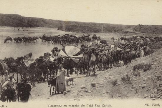 caravan-travelling-from-caid-ben-ganah-in-algeria