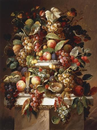 carl-baum-still-life-with-grapes-and-peaches