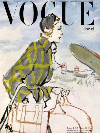 carl-eric-erickson-vogue-cover-january-1947-travel-fashion