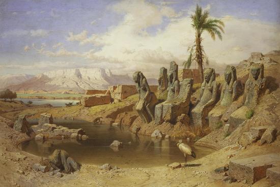 carl-friedrich-werner-temple-of-karnak-at-luxor-egypt