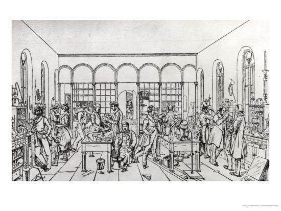 carl-friedrich-wilhelm-trautschold-view-of-the-chemistry-laboratory-of-baron-justus-von-liebig-at-giessen