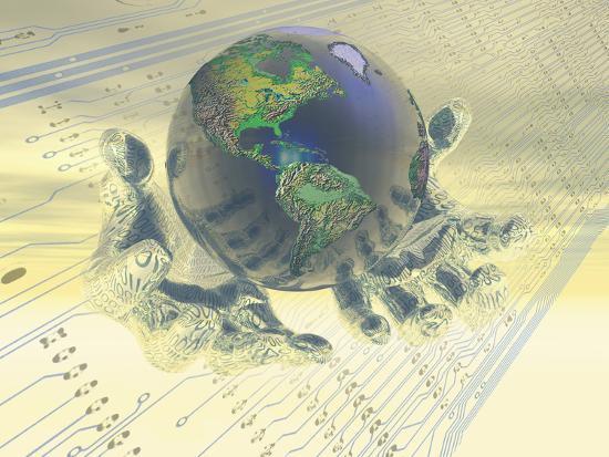 carol-mike-werner-earth-held-in-digital-hands