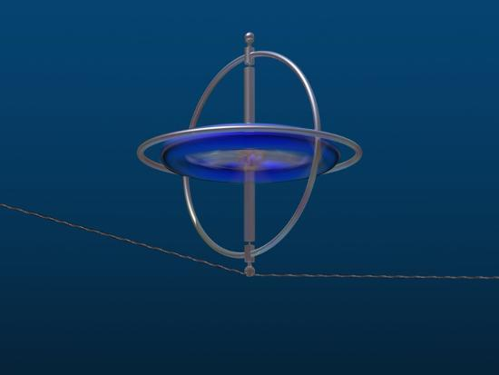 carol-mike-werner-gyroscope-spinning-along-a-wire