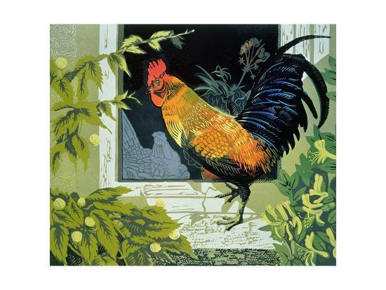 carol-walklin-gamecock-and-hen-version-two