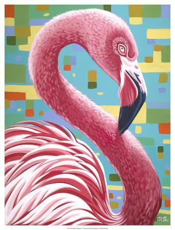 carolee-vitaletti-fabulous-flamingos-i