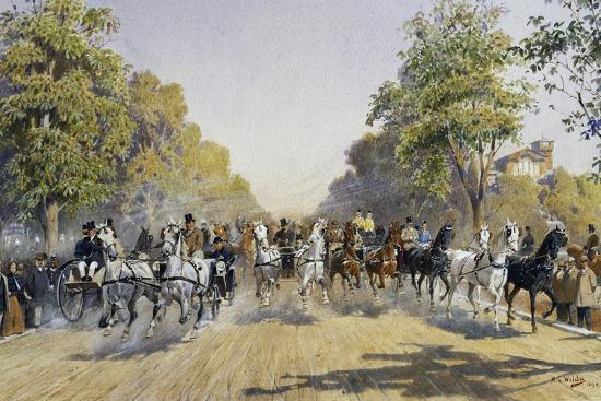 carriage-race-in-prater-in-vienna-watercolour-austria-19th-century