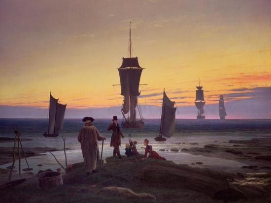 caspar-david-friedrich-the-stages-of-life-circa-1835