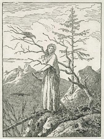 caspar-david-friedrich-woman-with-a-raven-on-the-edge-of-a-precipice