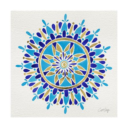cat-coquillette-mandala-in-navy-and-gold-cat-coquillette