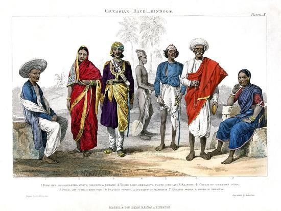 caucasian-race-hindus-1800-1900