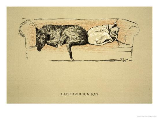 cecil-aldin-excommunication-1930-1st-edition-of-sleeping-partners