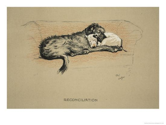 cecil-aldin-reconciliation-1930-1st-edition-of-sleeping-partners
