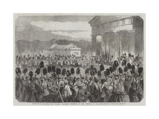 ceremony-of-placing-the-guards-crimean-colours-in-the-chapel-of-the-wellington-barracks