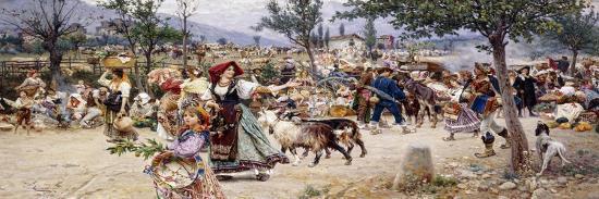 cesare-tiratelli-market-day-near-rome