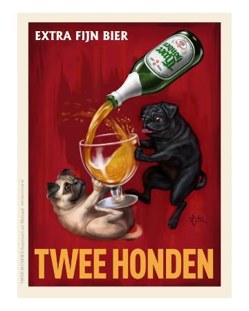 chad-otis-twee-honden-pugs