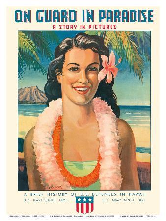 chadwick-on-guard-in-paradise-hawaiian-hula-girl