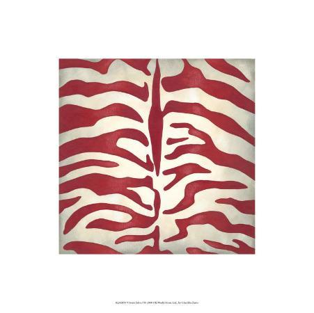 chariklia-zarris-vibrant-zebra-i