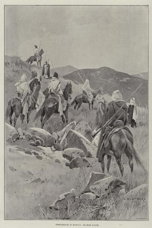 charles-auguste-loye-disturbances-in-morocco-moorish-scouts