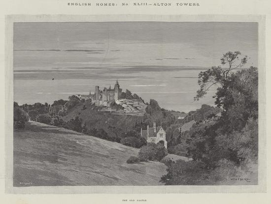 charles-auguste-loye-english-homes-alton-towers-the-old-castle