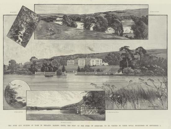 charles-auguste-loye-the-duke-and-duchess-of-york-in-ireland