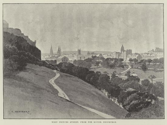 charles-auguste-loye-west-princes-street-from-the-mound-edinburgh