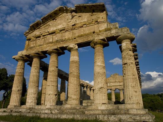 charles-bowman-temple-of-athena-paestum-unesco-world-heritage-site-campania-italy-europe