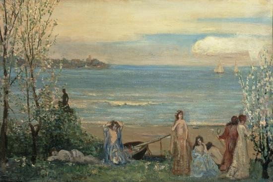 charles-conder-spring-by-the-sea
