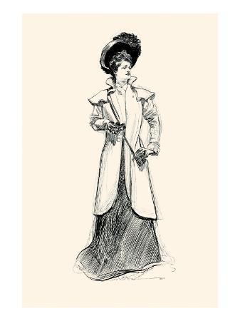 charles-dana-gibson-lady-with-binoculars