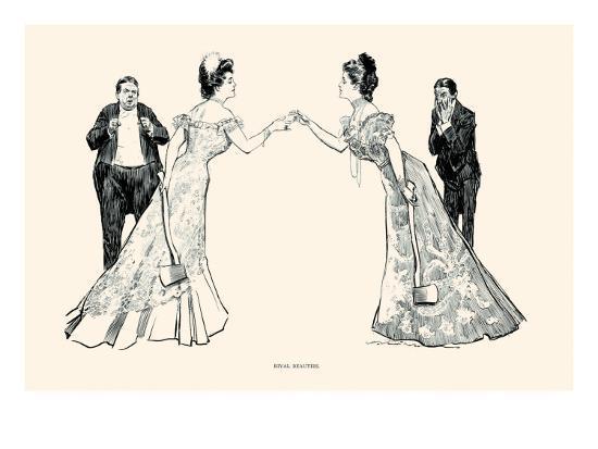 charles-dana-gibson-rival-beauties