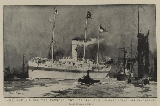 charles-edward-dixon-american-aid-for-the-wounded-the-hospital-ship-maine-lying-off-gravesend
