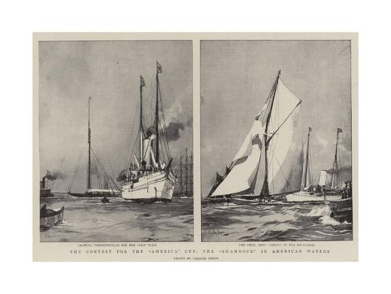 charles-edward-dixon-the-contest-for-the-america-cup-the-shamrock-in-american-waters