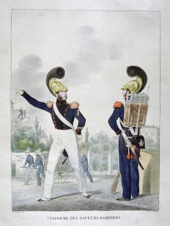 charles-etienne-pierre-motte-uniform-of-military-sapper-firemen-france-1823