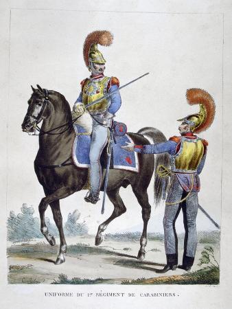 charles-etienne-pierre-motte-uniform-of-the-1st-regiment-of-carabiniers-france-1823