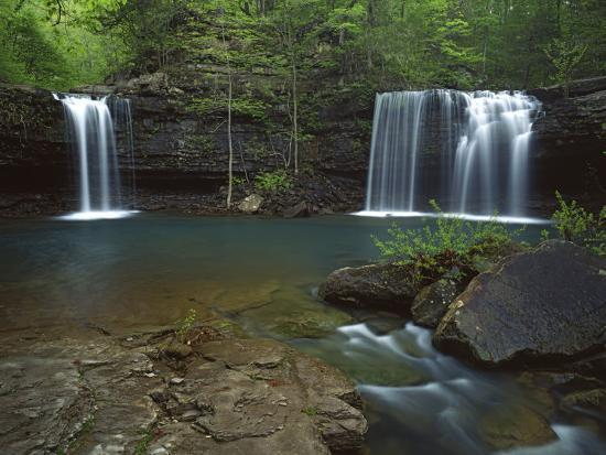 charles-gurche-twin-falls-on-devil-s-fork-richland-creek-wilderness-ozark-st-francis-national-forest-arkansas