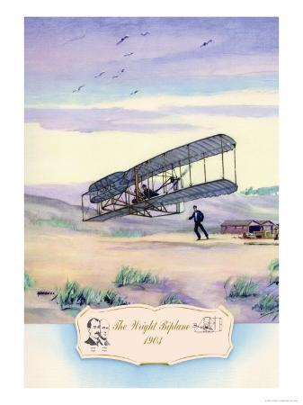 charles-h-hubbell-the-wright-biplane-1903