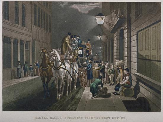 charles-hunt-mail-coach-outside-the-general-post-office-lombard-street-city-of-london-1827