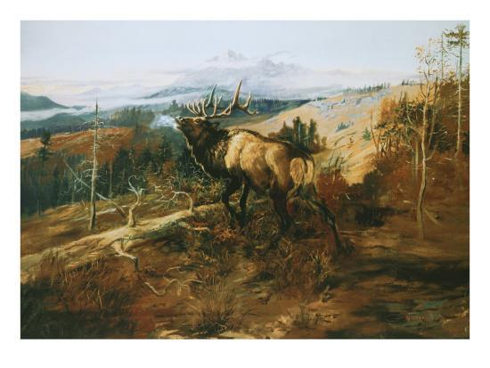 charles-marion-russell-the-elk