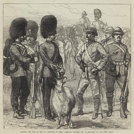 charles-robinson-officers-and-men-of-the-23rd-fusiliers-in-their-ordinary-uniform-and-as-equipped-for-the-gold-coast