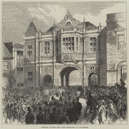 charles-robinson-opening-of-the-new-corn-exchange-at-aylesbury