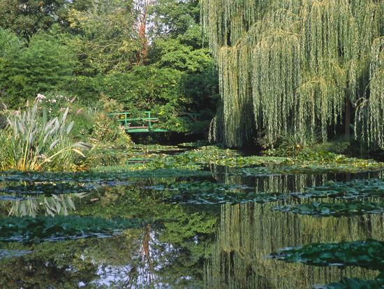 charles-sleicher-claude-monet-s-garden-pond-in-giverny-france