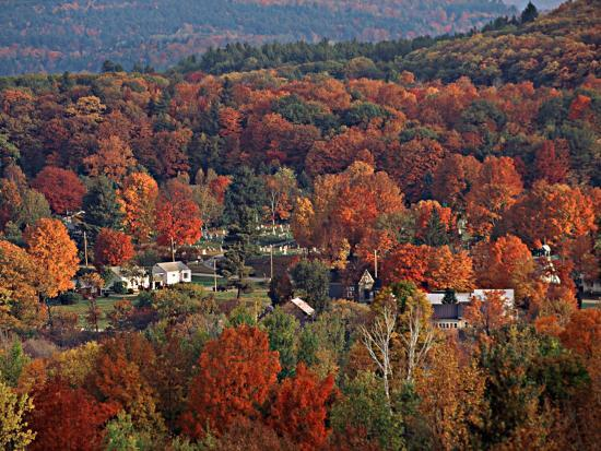 charles-sleicher-vermont-town-in-the-fall-usa
