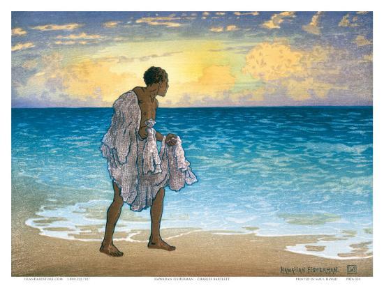 charles-w-bartlett-hawaiian-fisherman-c-1925