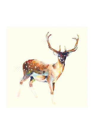 charmaine-olivia-deer-wearing-gym-socks