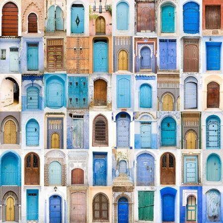 charobna-very-old-blue-and-golden-doors-of-morocco