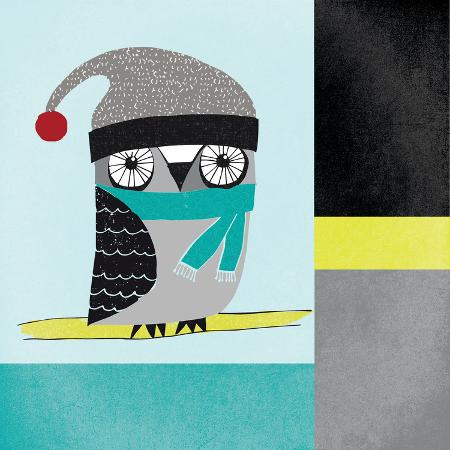 cheryl-warrick-owls-iv-blue-gray-and-yellow