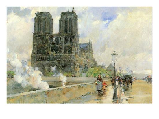 childe-hassam-cathedral-of-notre-dame-1888